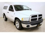 2003 Bright White Dodge Ram 1500 SLT Regular Cab #40711213