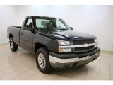 2005 Dark Blue Metallic Chevrolet Silverado 1500 Regular Cab 4x4 #40711216