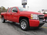 2011 Victory Red Chevrolet Silverado 1500 LS Extended Cab #40710977