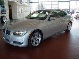 2008 Titanium Silver Metallic BMW 3 Series 335i Convertible #40710861