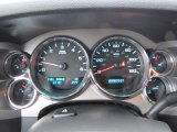 2010 Chevrolet Silverado 1500 LT Extended Cab 4x4 Gauges