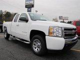 2011 Summit White Chevrolet Silverado 1500 LS Extended Cab #40710979