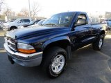 2004 Patriot Blue Pearl Dodge Dakota SLT Regular Cab 4x4 #40711276