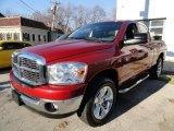 2007 Inferno Red Crystal Pearl Dodge Ram 1500 ST Quad Cab 4x4 #40711278
