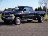 2000 Black Dodge Ram 3500 SLT Extended Cab 4x4 Dually #40710995