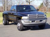 2000 Dodge Ram 3500 SLT Extended Cab 4x4 Dually Front 3/4 View