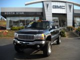 2006 Onyx Black GMC Sierra 2500HD SLE Extended Cab 4x4 #40710886