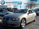 2008 Platinum Bronze Metallic BMW 3 Series 328xi Coupe #40710725