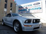 2005 Satin Silver Metallic Ford Mustang GT Premium Coupe #40711419