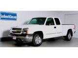 2003 Summit White Chevrolet Silverado 1500 Z71 Extended Cab 4x4 #40711143