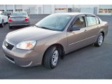 2007 Amber Bronze Metallic Chevrolet Malibu LS Sedan #40710770