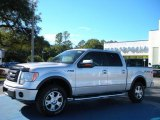 2010 Ingot Silver Metallic Ford F150 FX4 SuperCrew 4x4 #40756020