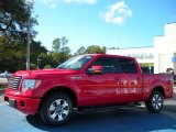 2010 Vermillion Red Ford F150 FX2 SuperCrew #40756021