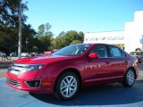 2011 Red Candy Metallic Ford Fusion SEL V6 #40756024