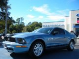 2006 Windveil Blue Metallic Ford Mustang V6 Premium Coupe #40756029