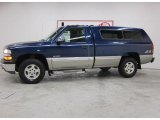 2002 Indigo Blue Metallic Chevrolet Silverado 1500 LS Regular Cab 4x4 #40755767