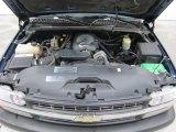 2002 Chevrolet Silverado 1500 LS Regular Cab 4x4 4.8 Liter OHV 16 Valve Vortec V8 Engine