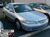 2002 Satin Silver Metallic Honda Accord LX Sedan #40755829