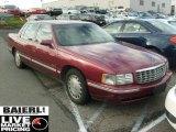 1997 Dark Cherry Red Metallic Cadillac DeVille Sedan #40755843