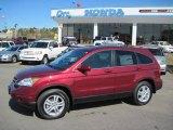 2011 Tango Red Pearl Honda CR-V EX-L 4WD #40756305