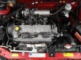 2001 Chevrolet Metro Engines