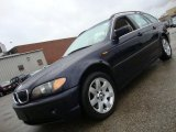 2002 Orient Blue Metallic BMW 3 Series 325xi Wagon #40755897