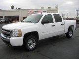 2011 Summit White Chevrolet Silverado 1500 LS Crew Cab #40756363