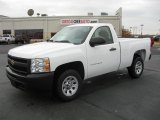 2011 Summit White Chevrolet Silverado 1500 Regular Cab #40756368