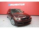 2007 Barrique Red Metallic BMW 3 Series 328i Sedan #40756389