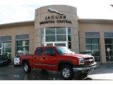 2004 Victory Red Chevrolet Silverado 1500 Z71 Crew Cab 4x4 #40756634