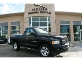 2004 Black Dodge Ram 1500 SLT Regular Cab 4x4 #40756635