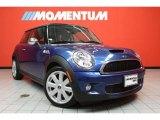 2007 Lightning Blue Metallic Mini Cooper S Hardtop #40756406