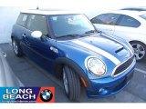 2007 Lightning Blue Metallic Mini Cooper S Hardtop #40756183