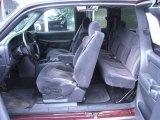 2000 Chevrolet Silverado 1500 LT Extended Cab Graphite Interior