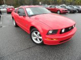 2007 Torch Red Ford Mustang GT Premium Coupe #40756217