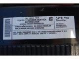 2007 GMC Sierra 2500HD Extended Cab 4x4 Info Tag