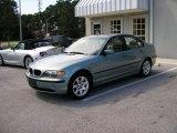 2002 Steel Blue Metallic BMW 3 Series 325i Sedan #40830