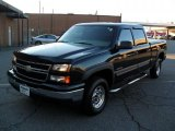 2007 Black Chevrolet Silverado 1500 Classic LT Crew Cab #40821166