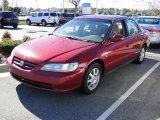 2002 Firepepper Red Pearl Honda Accord SE Sedan #40821201