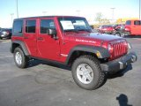 2011 Jeep Wrangler Unlimited Deep Cherry Red