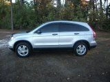 2010 Alabaster Silver Metallic Honda CR-V EX AWD #40820983