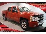 2007 Victory Red Chevrolet Silverado 1500 LT Z71 Crew Cab 4x4 #40820577