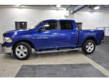 2011 Deep Water Blue Pearl Dodge Ram 1500 Big Horn Crew Cab #40820773
