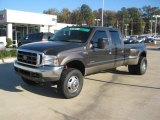 2005 Dark Stone Metallic Ford F350 Super Duty Lariat Crew Cab 4x4 Dually #40821002