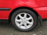 Volkswagen Cabrio 1995 Wheels and Tires