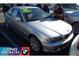2006 Titanium Silver Metallic BMW 3 Series 325i Coupe #40820805