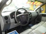 2005 Ford F150 XL SuperCab Medium Flint Grey Interior