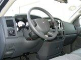 2008 Dodge Ram 1500 Big Horn Edition Quad Cab 4x4 Medium Slate Gray Interior