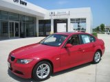 2008 Crimson Red BMW 3 Series 328i Sedan #40879543