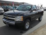2011 Black Chevrolet Silverado 1500 Regular Cab 4x4 #40879867